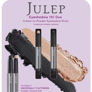 Julep eye shadow duo 101 champagne pencil shimmer